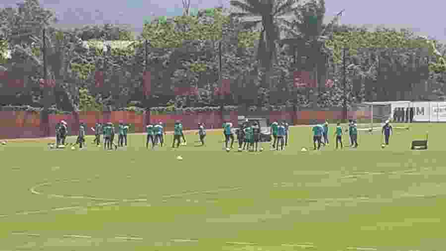 Elenco principal do Flamengo se reapresenta e inicia sua pré-temporada no Ninho do Urubu - Leo Burlá / UOL Esporte