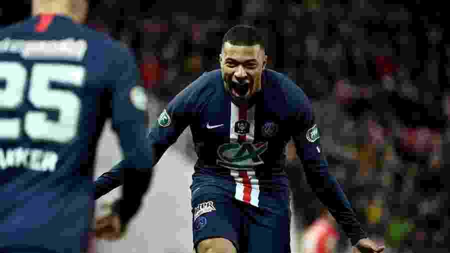 Mbappé foi eleito melhor jogador dos últimos seis meses nas cinco principais ligas por estudo - JEFF PACHOUD / AFP