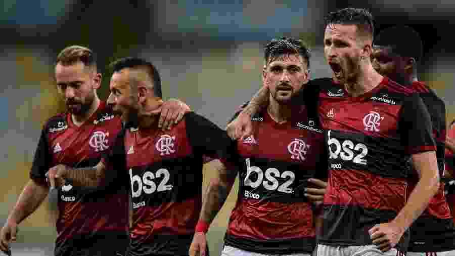 Jogadores do Flamengo estão de férias entre dia primeiro a 20 de abril por conta do coronavirus - Thiago Ribeiro/AGIF