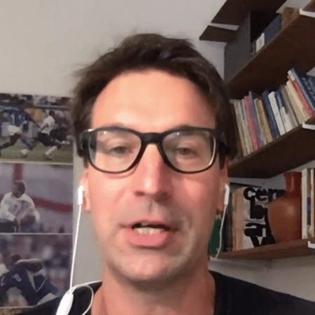 Arnaldo Ribeiro, comentarista do SporTV - Reprodução/SporTV