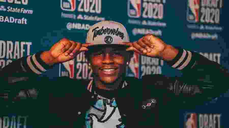 Anthony Edwards é escolhido em 1º pelos Timberwolves no Draft da NBA - Courtesy of Anthony Edwards/NBAE via Getty Images