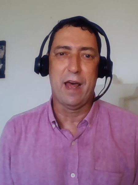PVC, comentarista do Grupo Globo - Reprodução/SporTV