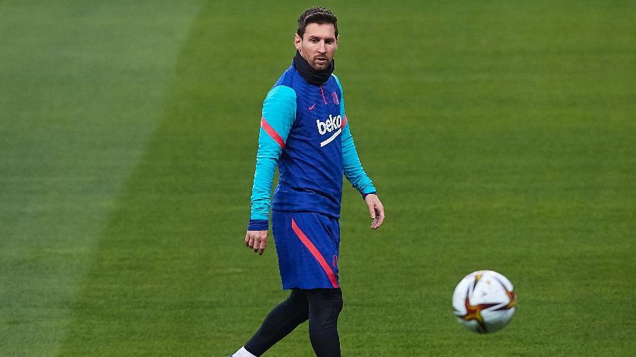 O contrato de Lionel Messi com o Barcelona vai até junho de 2021 - Fran Santiago/Getty Images