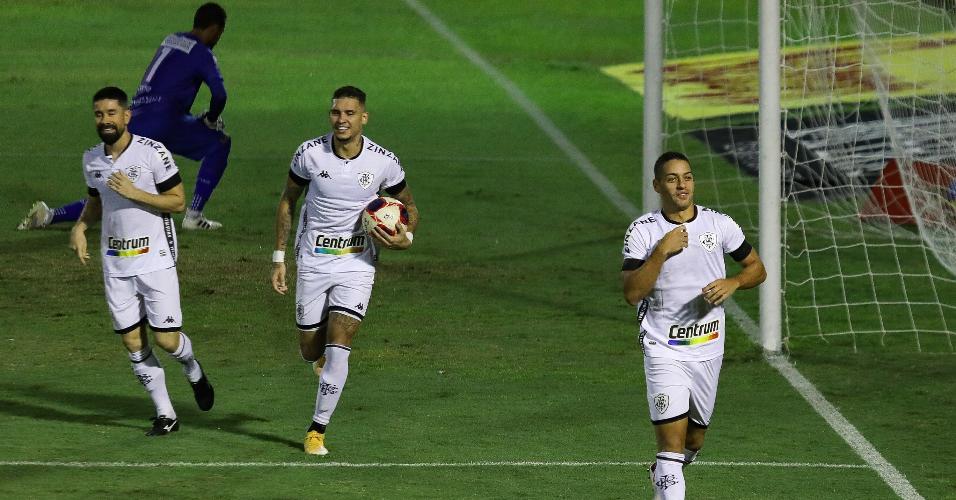 Felipe Ferreira marcou o primeiro gol do Botafogo sobre o Volta Redonda