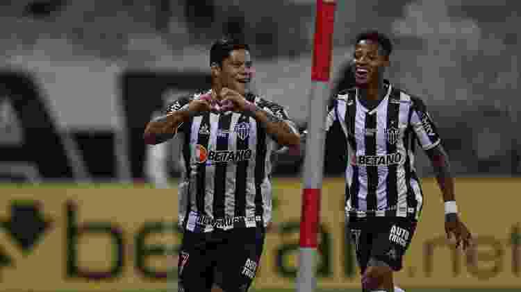Com seis gols em 2021, Hulk se tornou o artilheiro isolado do Atlético-MG na temporada - Pedro Souza/Atlético - Pedro Souza/Atlético