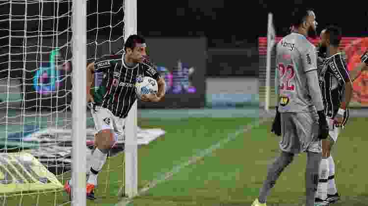 Fred se tornou o maior artilheiro da Copa do Brasil, com 36 gols, igualando Romário - Thiago Ribeiro/AGIF - Thiago Ribeiro/AGIF