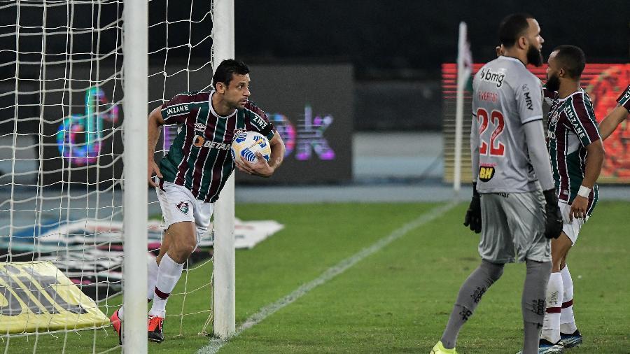 Fred e Galo travam batalha jurídica desde o ano de 2018, e atacante terá que pagar quantia milionária ao ex-clube - Thiago Ribeiro/AGIF