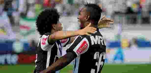 Hyuri tem contrato com o Atlético-MG até dezembro de 2020 - Rhona Wise/AFP