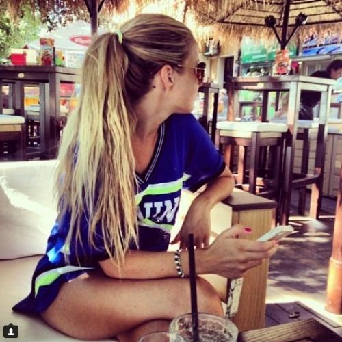 Izabela Andrijanic, namorada do volante Kovacic