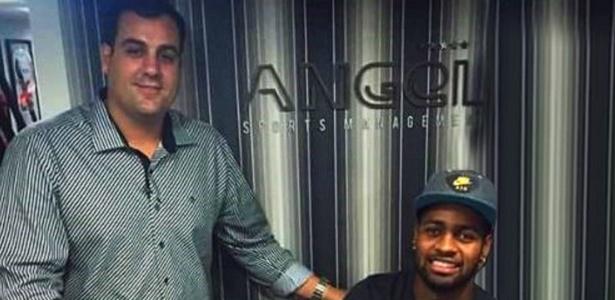 Márcio Cezar e Dedé, zagueiro do Cruzeiro, são sócios da Angel Sports