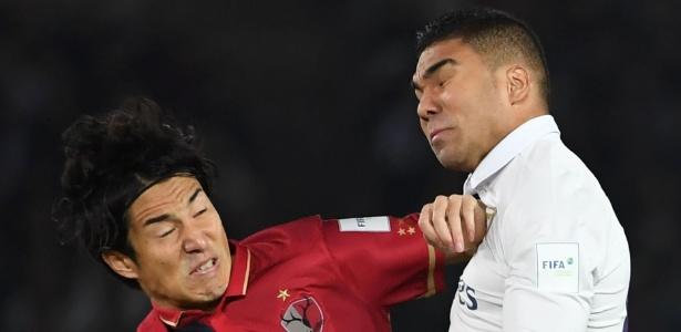 Casemiro foi mais uma vez titular do Real Madrid na decisão do Mundial - Toshifumi Kitamura/AFP