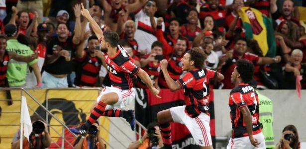 A torcida lotou o Maracanã para ver a vitória do clube sobre o San Lorenzo