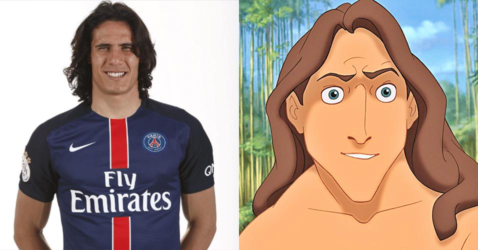 EDINSON CAVANI - Tarzan