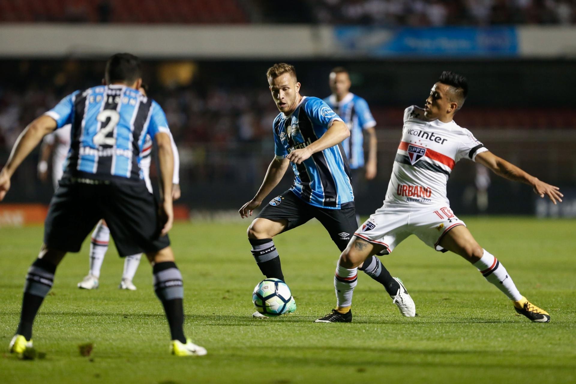 Grêmio volta com força (quase) máxima ao Brasileiro. Veja o que mudou -  02 09 2017 - UOL Esporte cba24fecb1e70