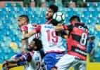 Duelo de ameaçados! Atlético-GO empata com Bahia e perde chance de embalar
