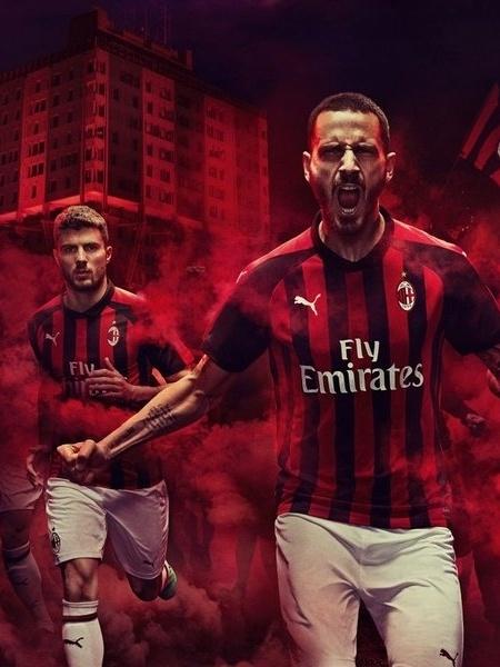 Uefa reterá 12 milhões de euros (quase R$ 53 milhões em valores atuais) da renda do Milan na Liga Europa - reprodução/Milan