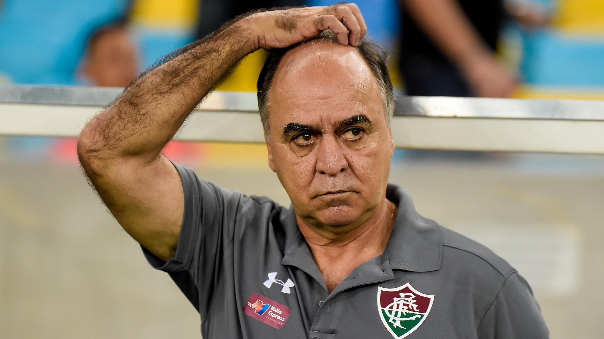 Marcelo Oliveira, técnico do Fluminense