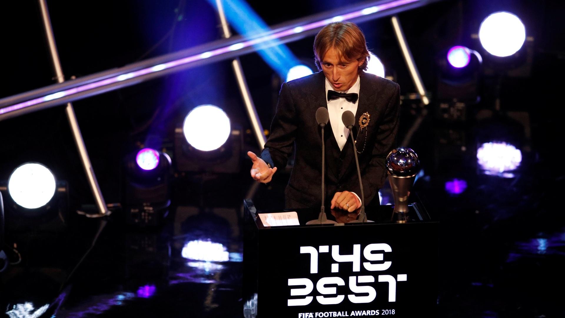 Luka Modric é o eleito o melhor do mundo