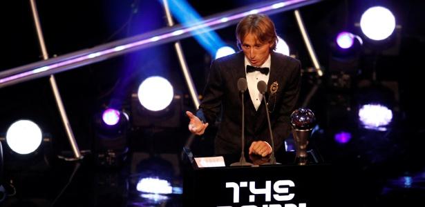 Luka Modric foi eleito o melhor jogador do mundo  - Reuters/John Sibley