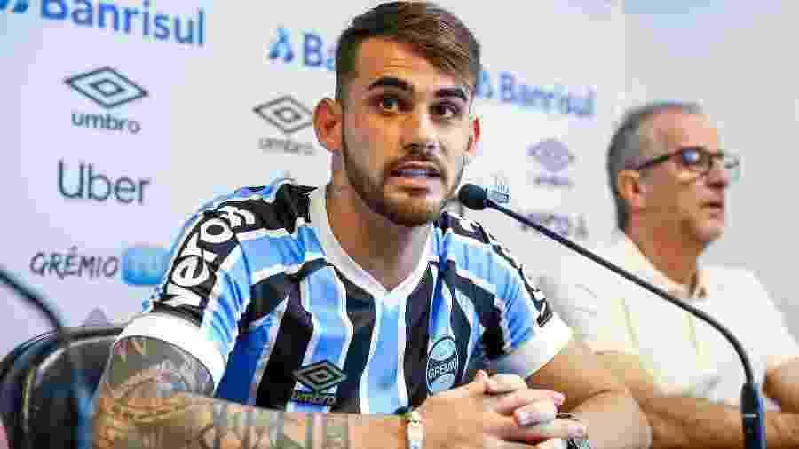Grêmio inscreve Felipe Vizeu na Libertadores com a camisa 10 - 27 02 ... 834c9dfc36540