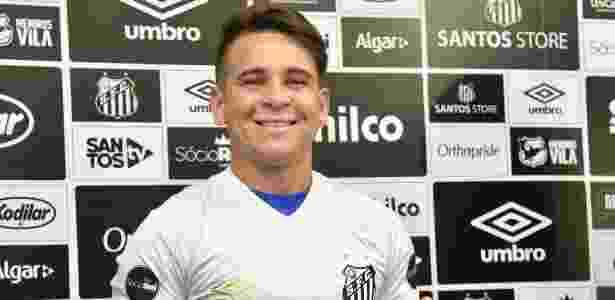 Soteldo foi apresentado como reforço do Santos nesta terça-feira (15) - Reprodução/Twitter