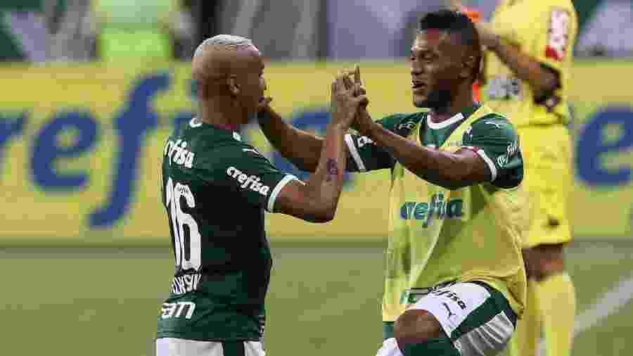 Borja e Deyverson têm um péssimo início de ano no Palmeiras - Cesar Greco/Ag. Palmeiras/Divulgação