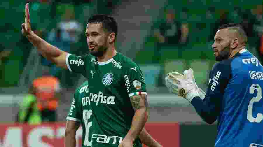 Luan deve ser zagueiro titular do Palmeiras - Marcello Zambrana/AGIF