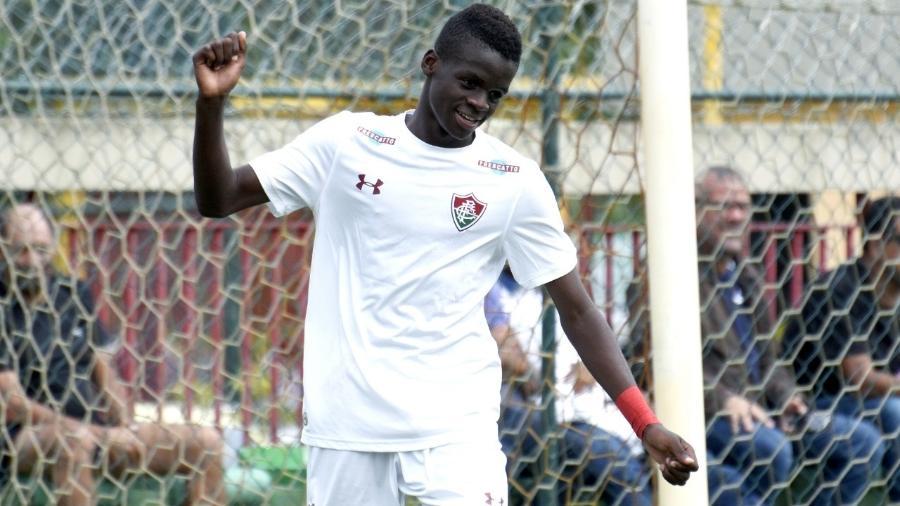 Metinho Silu, do Fluminense, é filho de refugiado do Congo e tem cidadania brasileira - Mailson Santana/Fluminense