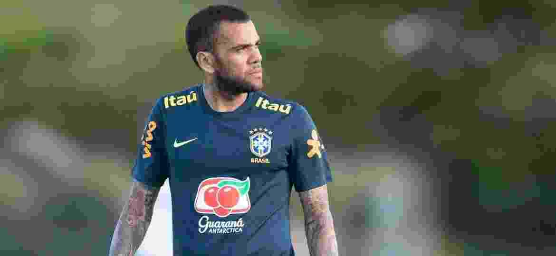 Daniel Alves ainda não sabe qual clube defenderá na próxima temporada. Internazionale (Itália) fez proposta pelo lateral da seleção brasileira - Lucas Figueiredo/CBF