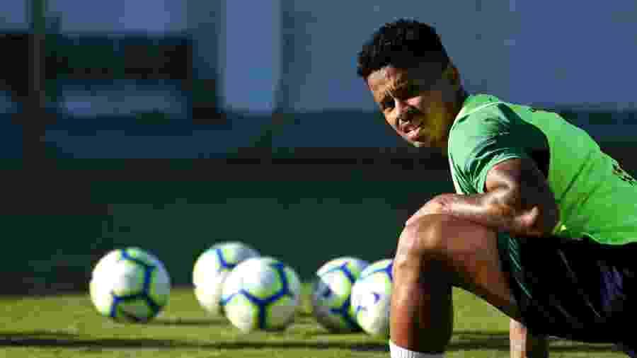 Allan passará por testes para saber se entra em campo contra o Corinthians - Mailson Santana/Fluminense FC