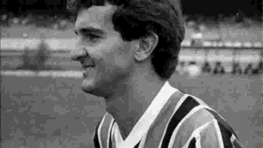 O meia Tita jogou pelo Grêmio em 1983, emprestado pelo Flamengo - Jorge Araulo/Folhapress
