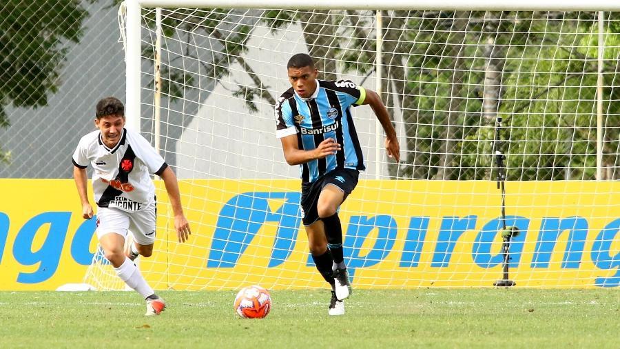Ruan, zagueiro do Grêmio, durante participação na Copa Ipiranga - Rodrigo Fatturi/Grêmio