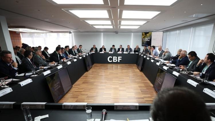 Comissão Nacional de Clubes (CNC) apoia Projeto de Lei que tem Marcelo Aro (PP-MG) como relator - Lucas Figueiredo/CBF