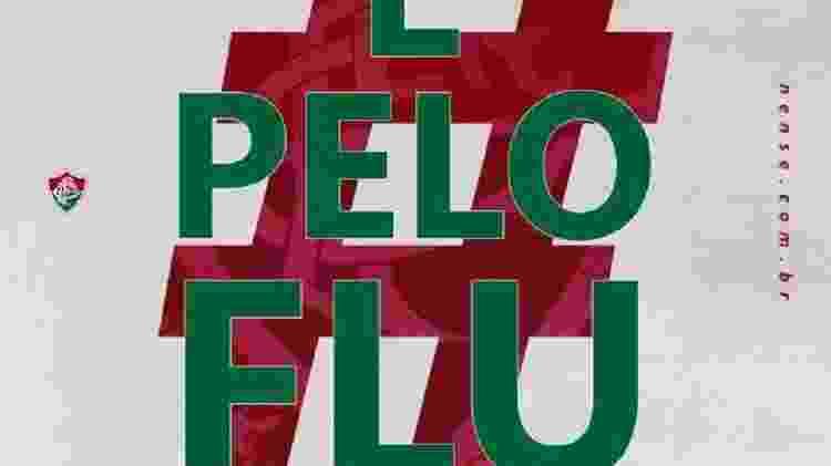 Ação #ÉPeloFLU já trouxe 750 novos sócios para o Fluminense - Reprodução - Reprodução