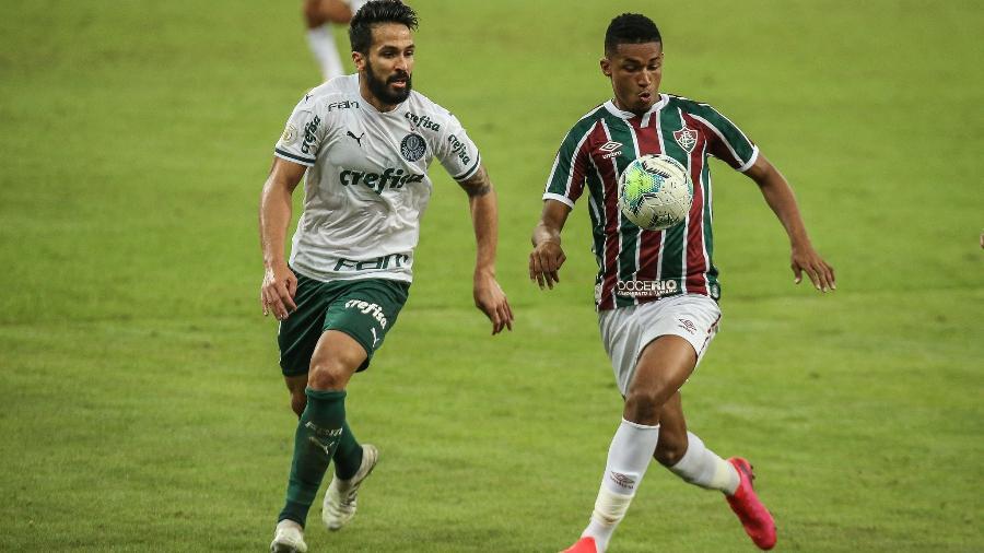 Marcos Paulo, atacante do Fluminense - Lucas Merçon/Fluminense FC