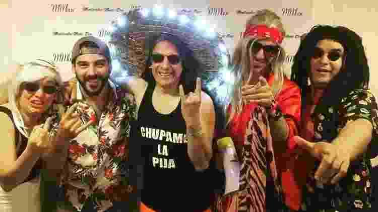 Grupo uruguaio canta hit que embala vestiário do Flamengo - Divulgação - Divulgação