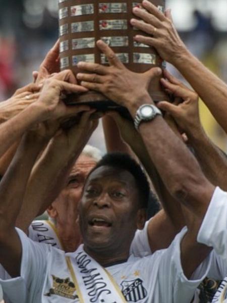 Pelé parabeniza Santos por 109º aniversário - Reprodução/Instagram