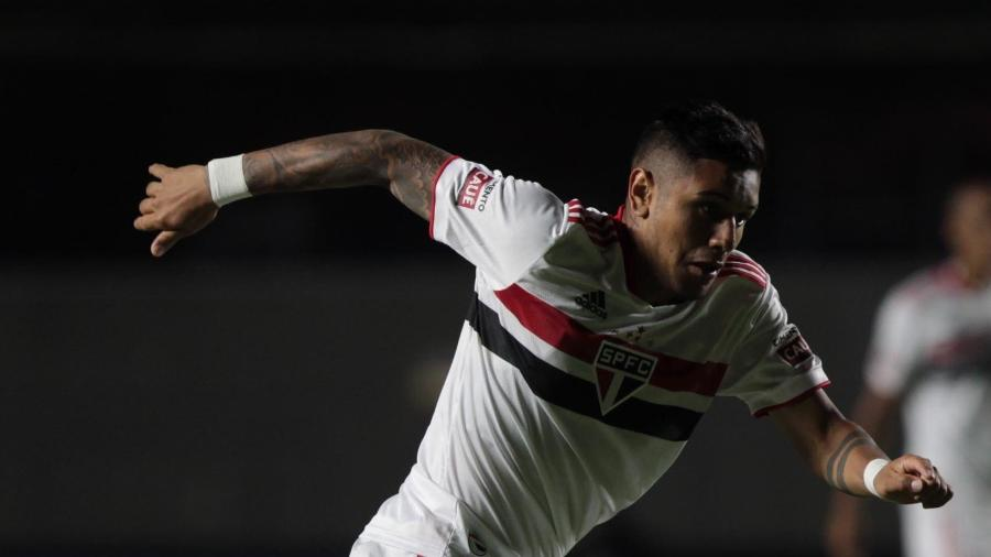 Galeano, atacante do São Paulo - Rubens Chiri / saopaulofc.net