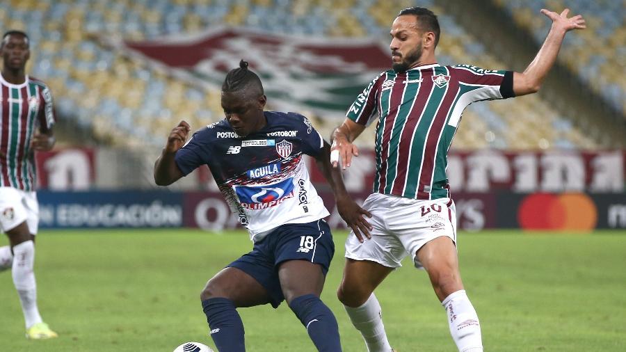 Yago Felipe volta ao time do Fluminense após cumprir suspensão - Buda Mendes/Getty Images