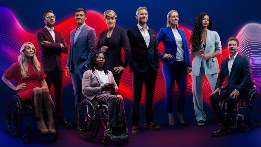 Equipe de comercial, feito por emissora britânica referência na cobertura de esportes paralimpícos - Divulgação/Channel 4