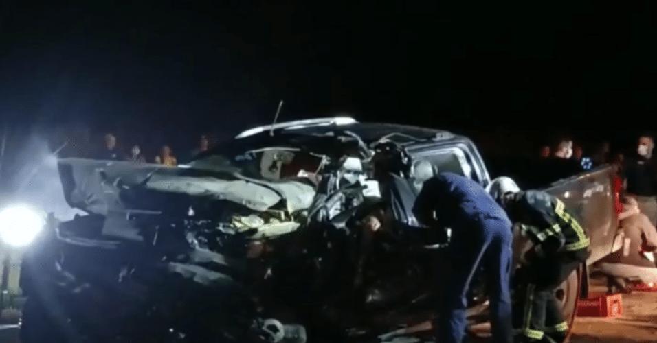 Acidente envolvendo o time amador de vôlei Curitibanos deixou três pessoas mortas e outras seis feridas
