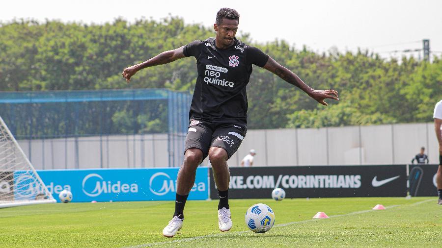 Jô está prestes a completar 250 jogos pelo Corinthians e falou sobre a marca - Felipe Szpak/Agência Corinthians