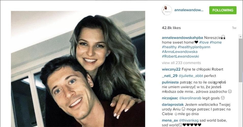 Anna Lewandowska é casada com Lewandowski