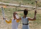 Rio-2016: Cerimônia de acendimento da tocha olímpica