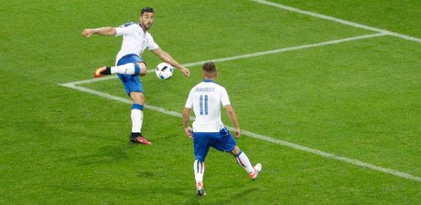 Pellé se destacou pela Itália