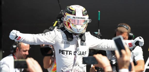 Hamilton vem embalado após grande vitória em Silverstone - REUTERS/Matthew Childs Livepic