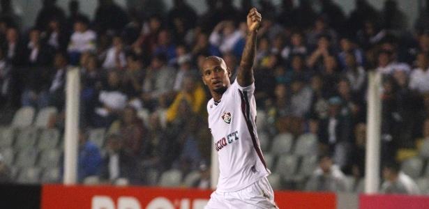 Wellington Silva tem contrato com o Flu até 2018, mas deverá ser emprestado - NELSON PEREZ/FLUMINENSE F.C.