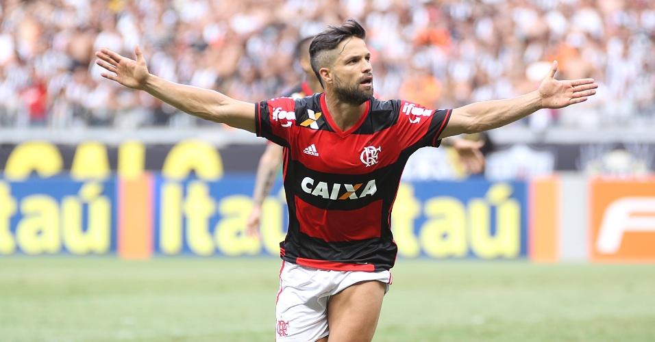 Diego é o destaque do Flamengo no Campeonato Brasileiro. Camisa 35 é visado por adversários