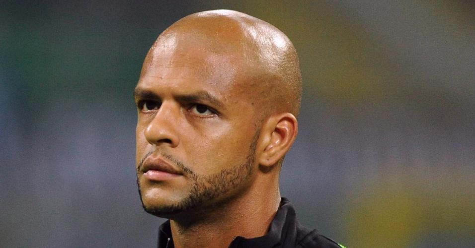 Felipe Melo se prepara para jogo da Inter de Milão pela Liga Europa