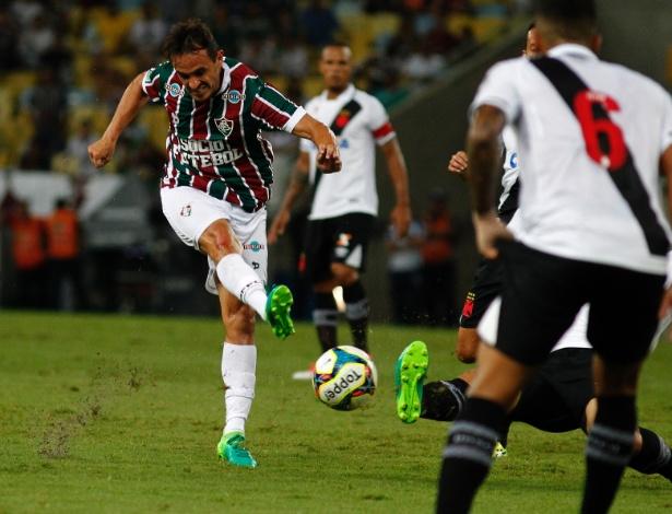 Lateral Lucas defendeu o Flu em 2017 e estava fora dos planos do Palmeiras para a temporada